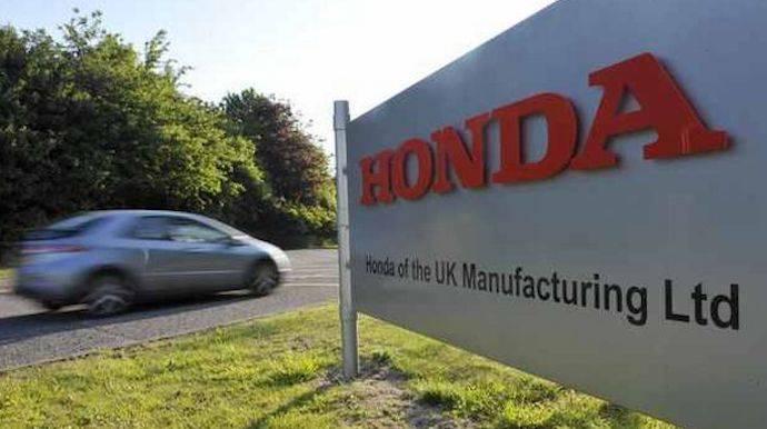 Honda planea el cierre de su factoría de Swindon