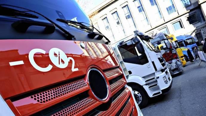 Los camiones tendrán que reducir sus emisiones un 30% en 10 años