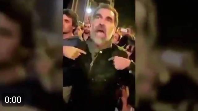 Jordi Cuixart, alentando la presión y el encierro de funcionarios