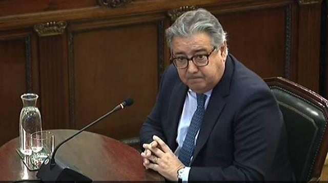 El exministro del Interior, Juan Ignacio Zoido, en el Supremo.