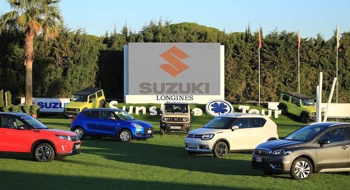 Suzuki y su gama AllGrip protagonistas del Sunshine Tour