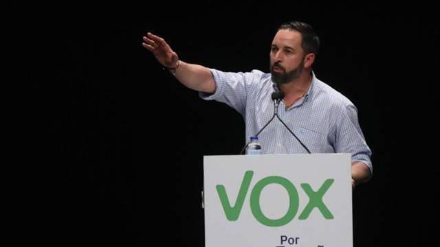 Atacan la sede nacional de Vox en Madrid rompiendo los cristales