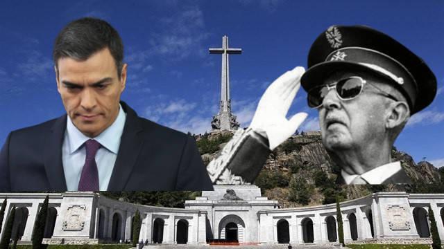 Tribunal Supremo español suspendió cautelarmente la exhumación de Franco