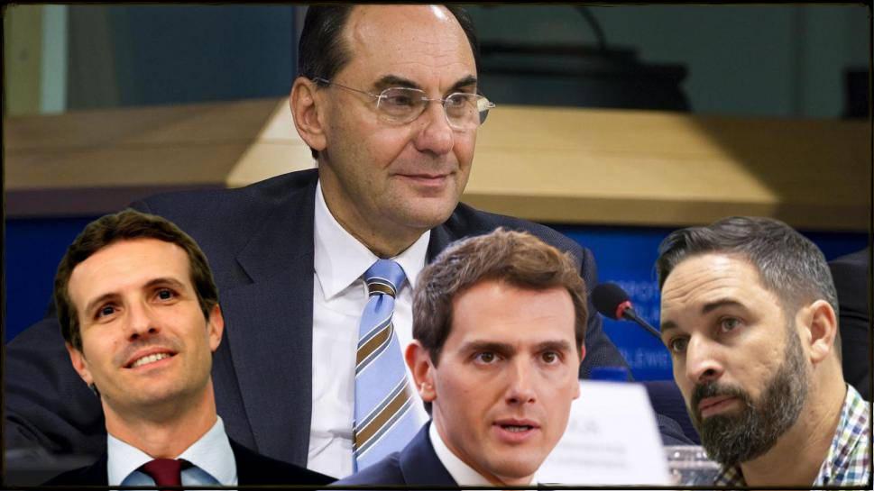 Vidal Quadras lanza un órdago a Casado, Abascal y Rivera que amenaza la derecha