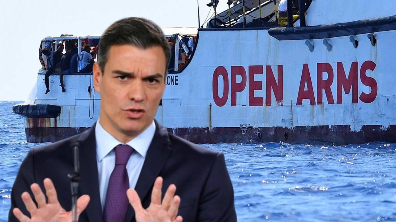 Si no le gustan mis principios: Sánchez vuelve a dar un vuelco con el Open Arms