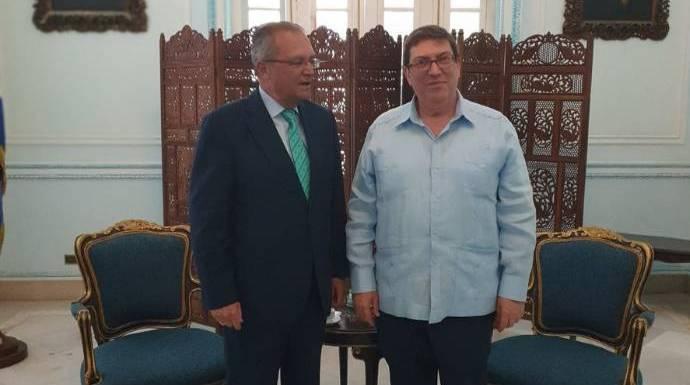 Así se ríe el castrismo en la cara de Borrell con su número dos de invitado en La Habana