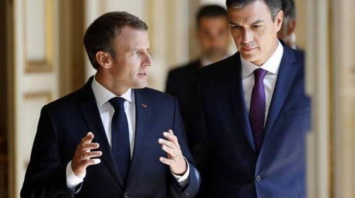 Macron y Bruselas echan con su mensaje el primer jarro de agua helada a los independentistas