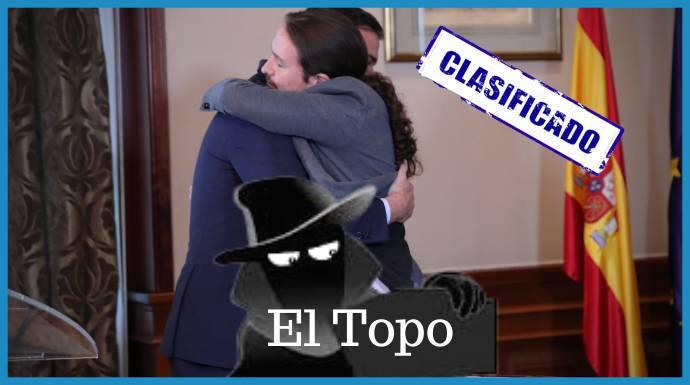 """La """"trampa"""" que Sánchez cavila para que Iglesias y sus ministros sean floreros - ESdiario"""