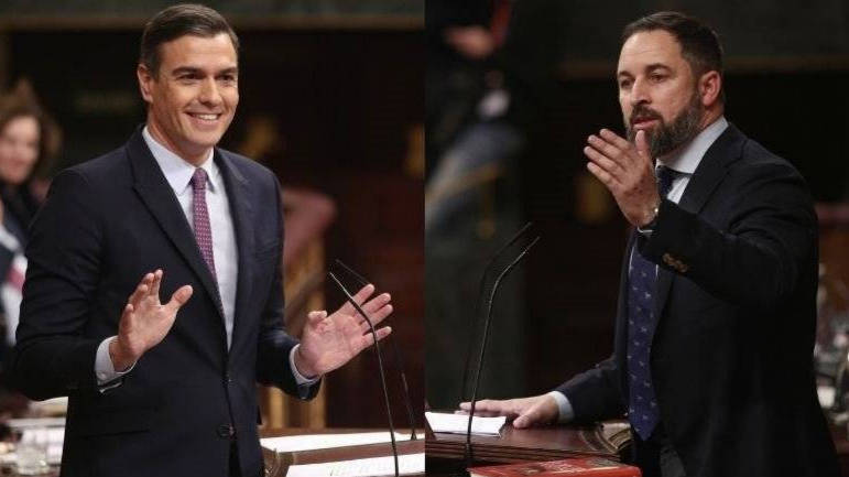 Vox «resucita» otra vez a Franco y quiere debatir de memoria cara a cara con Sánchez