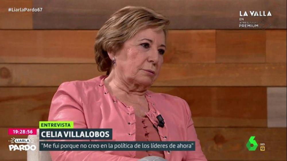 Celia Villalobos da a Iglesias de su propia medicina y lo deja por los suelos