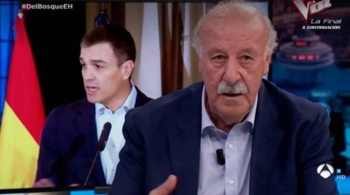 Del Bosque confiesa por fin qué le ofreció Sánchez y por qué le dio calabazas hace dos años