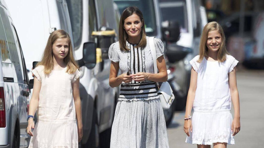 Sofía mete un buen repaso a Leonor y Letizia, que cae frente a sus «cuñadas»