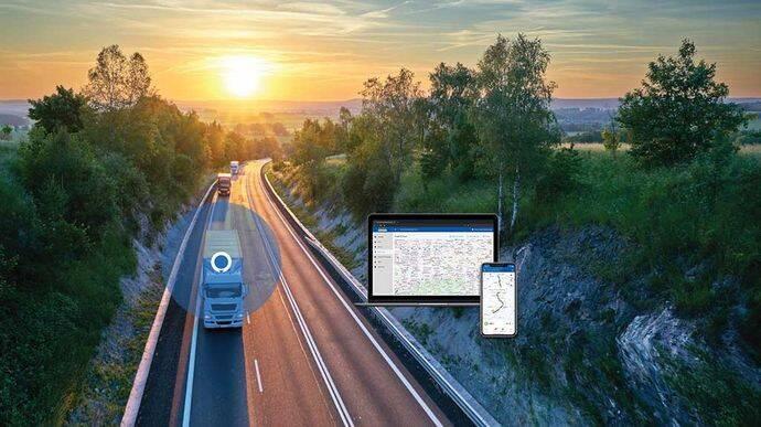 Fleet Tracker, la aplicación para flotas de Goodyear