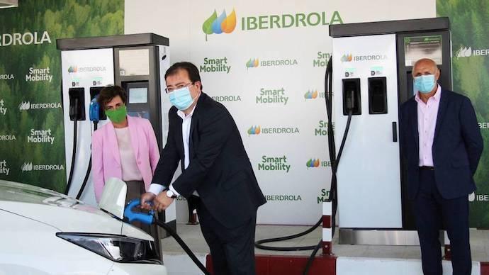 Iberdrola reduce los costes de un Madrid-Cadiz con su nueva súper electrolinera