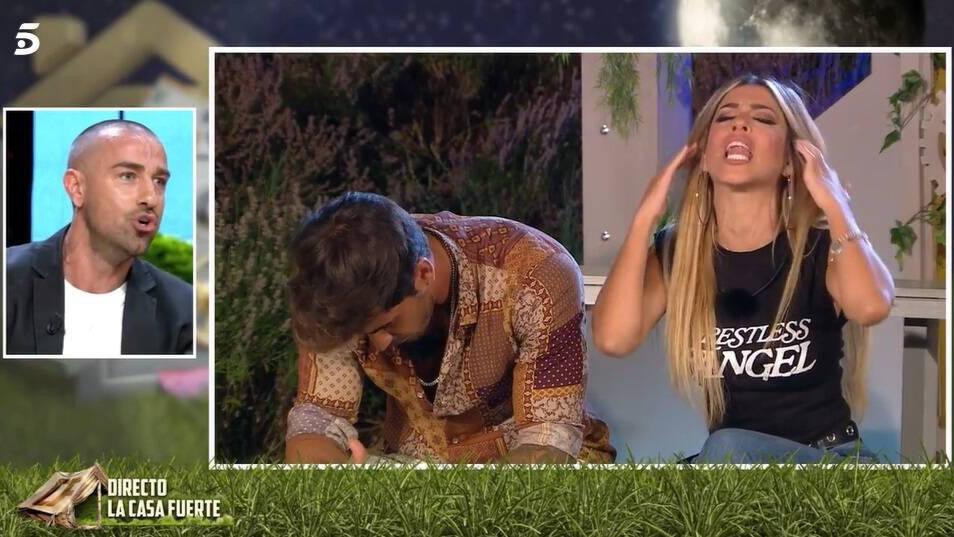 Rafa Mora tiene un tenso enfrentamiento con Oriana por culpa de una infidelidad