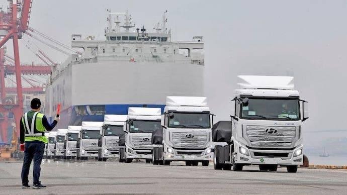 Hyundai a la conquista del transporte pesado con el Xcient Fuel Cell