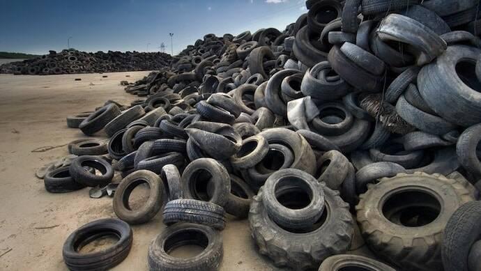 Se acabó mandar los neumáticos al vertedero