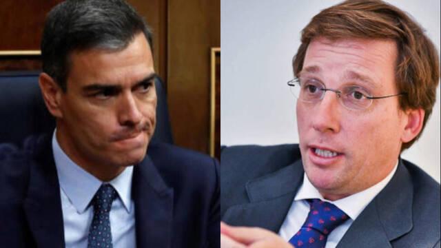 """La pregunta devastadora con la que Almeida desmonta el """"liderazgo"""" de  Sánchez - ESdiario."""