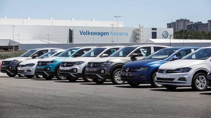 Volkswagen fabricará 5.000 coches más en Navarra