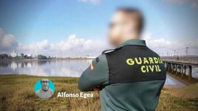 El guardia civil acusado de un delito de lesiones.