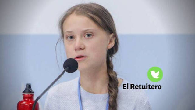Greta Thunberg, ya tan mayor