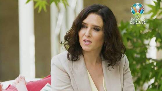 Isabel Díaz Ayuso 'Mi casa es la tuya' Bertín Osborne