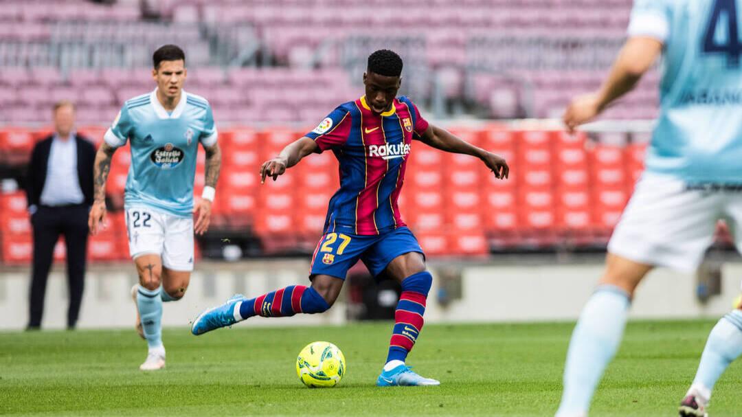 El Barça podría dejar ir a una de sus jóvenes promesas